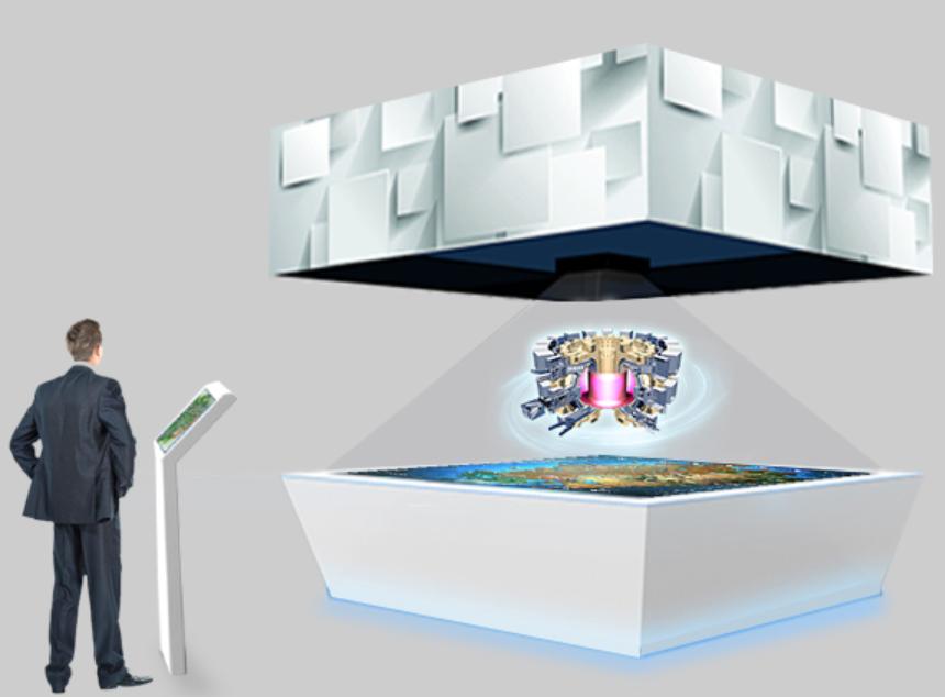 360°智能全息投影系统