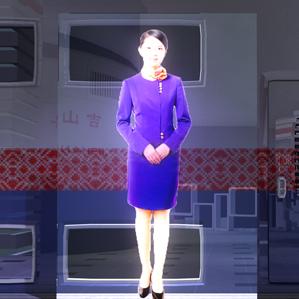贵州数字科技体验馆虚拟迎宾系统