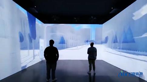 上海一汽大众沉浸式展厅投影